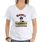 Warrior Children Women's V-Neck T-Shirt