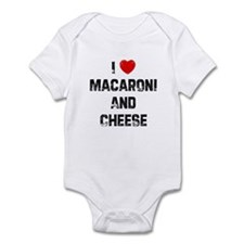 I * Macaroni And Cheese Infant Bodysuit