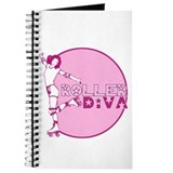 Cute Roller diva Journal