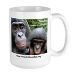 Lola ya bonobo Large Mug