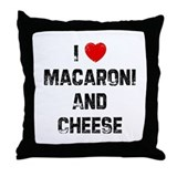 I * Macaroni And Cheese Throw Pillow