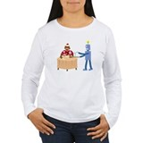 Sock Monkey Robot Bar T-Shirt