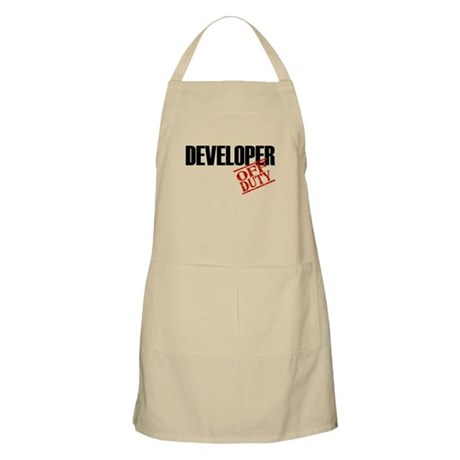 Off Duty Developer BBQ Apron