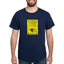 Warning: Buffalo T-Shirt
