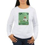 Sock Monkey Bartender Women's Long Sleeve T-Shirt