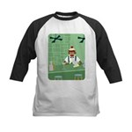 Sock Monkey Bartender Kids Baseball Jersey