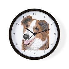 English Shepherd Wall Clock