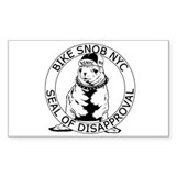 BSNYC Seal of Disapproval Rectangle Decal