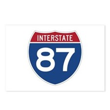 Interstate 87 Postcards (Package of 8)
