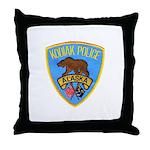Kodiak Alaska Police Throw Pillow