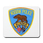 Kodiak Alaska Police Mousepad