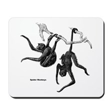 Spider Monkeys Mousepad