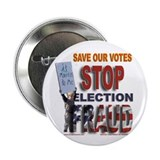 "STOP Election Fraud 2.25"" Button"