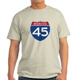 Interstate 45 T-Shirt