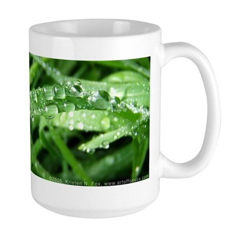 Raindrops Large Mug