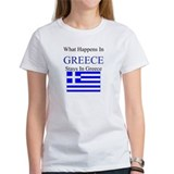 What Happens in Greece Tee