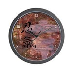 Wall Clock with Symbols