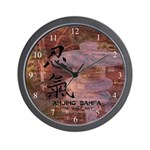 Wall Clock with website
