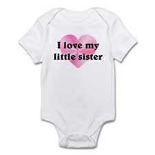 Love My Little Sister Infant Bodysuit