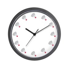 Badminton Wall Clock