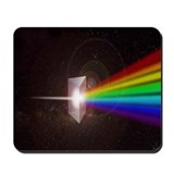 Space Prism Rainbow Spectrum Mousepad