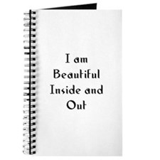 I am Beautiful Inside and Out Journal