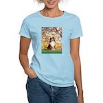 Spring / Sheltie (#1) Women's Light T-Shirt