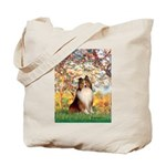 Spring / Sheltie (#1) Tote Bag