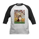 Spring / Sheltie (#1) Kids Baseball Jersey