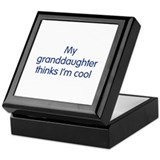 Granddaughter Cool Keepsake Box