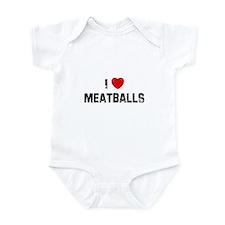 I * Meatballs Infant Bodysuit
