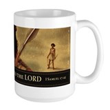 David and Goliath Coffee Mug