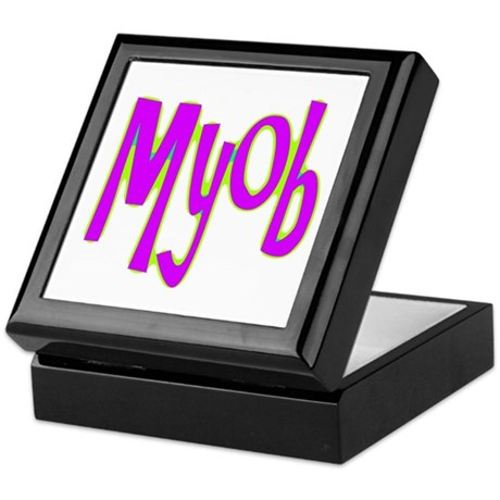MYOB Keepsake Box