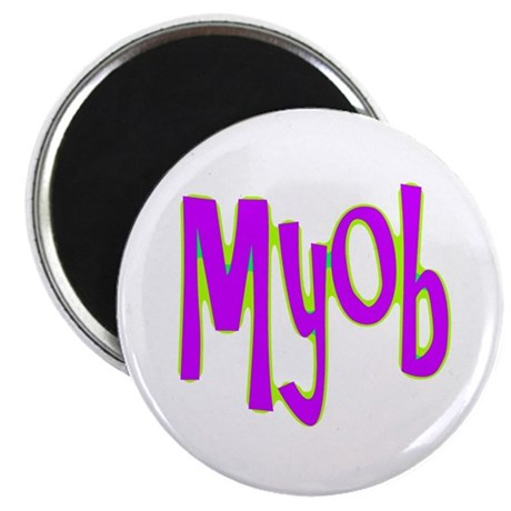 MYOB 2.25&quot; Magnet (10 pack)