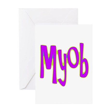 MYOB Greeting Card
