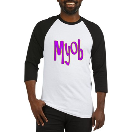 MYOB Baseball Jersey