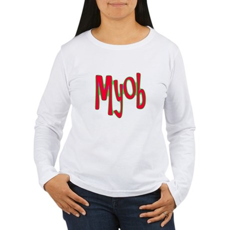 MYOB Women's Long Sleeve T-Shirt