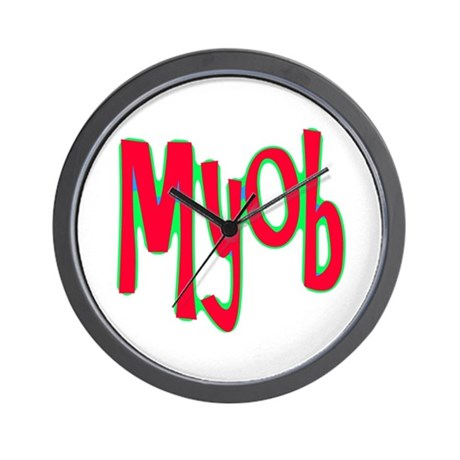 MYOB Wall Clock
