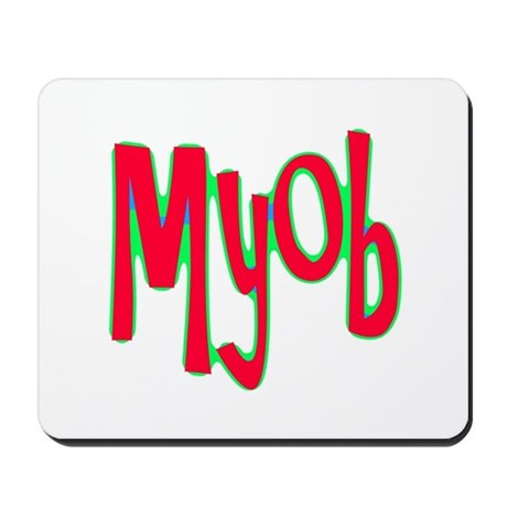 MYOB Mousepad