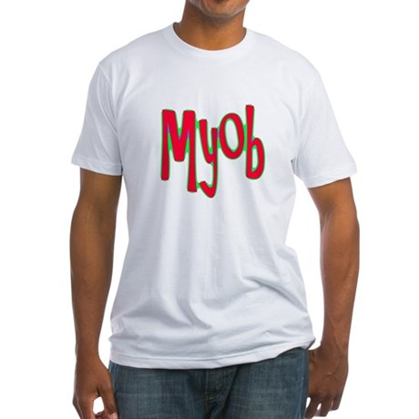 MYOB Fitted T-Shirt