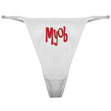 MYOB Classic Thong