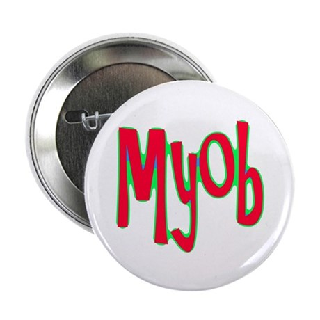 "MYOB 2.25"" Button (100 pack)"