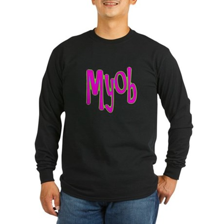 MYOB Long Sleeve Dark T-Shirt
