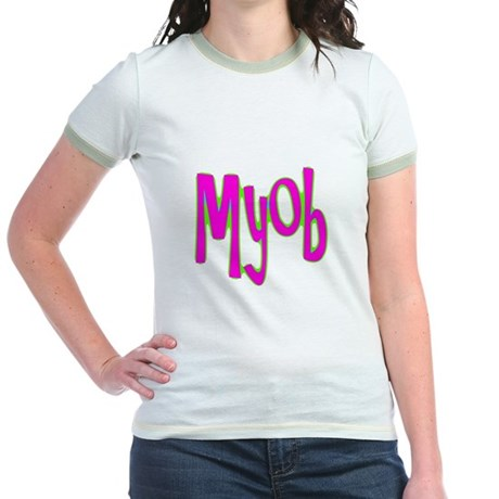 MYOB Jr. Ringer T-Shirt