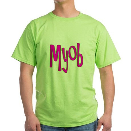 MYOB Green T-Shirt
