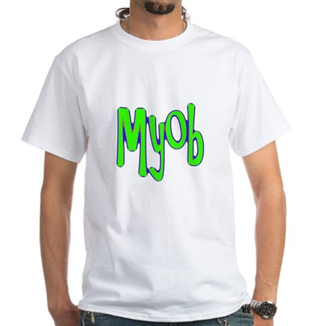 MYOB White T-Shirt
