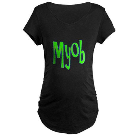 MYOB Maternity Dark T-Shirt