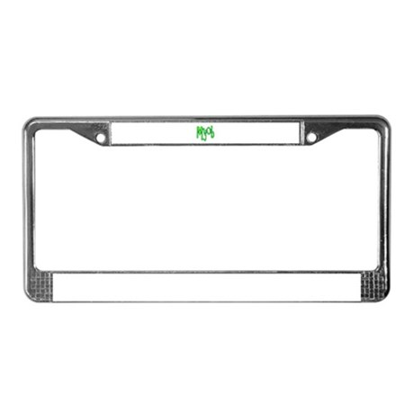 MYOB License Plate Frame