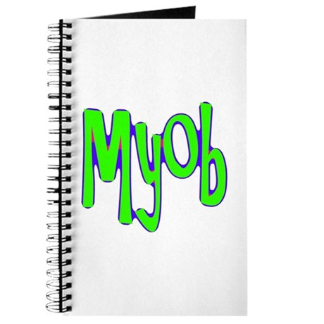 MYOB Journal