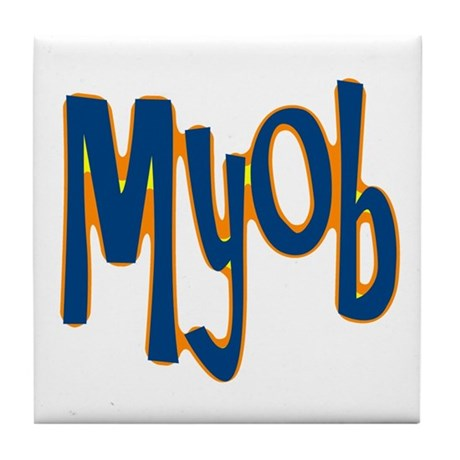 MYOB Tile Coaster